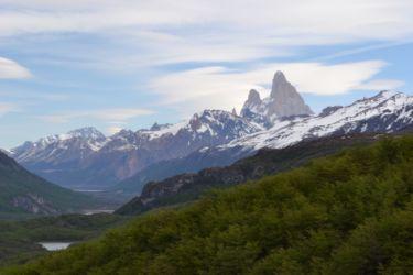 Vista Cerro Fitz Roy - Trekking Huemul - Lago del Desierto (Large)